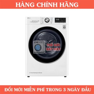 Máy sấy bơm nhiệt LG DVHP09W 9 Kg